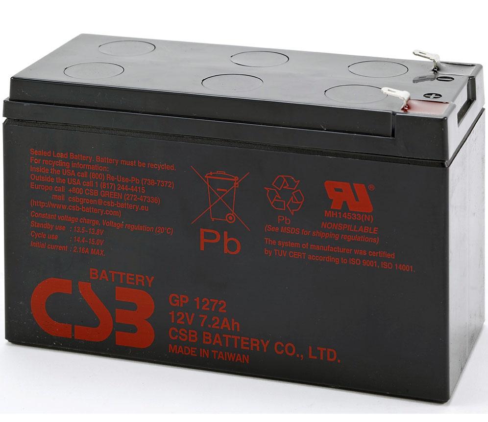 Аккумулятор CSB GP1272 28W 12V7Ah F2